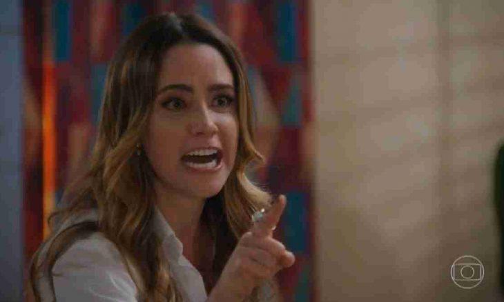 Bruna se desespera ao saber que Camila está viva neste sábado (30) em 'Haja Coração'