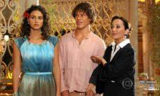 Guiomar apresentar Candinho como filho de Dionísio neste sábado (30) em 'Flor do Caribe'