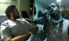 Após ser baleado, Sabiá e traficantes resgatam Rubinho do hospital nesta sexta (5) em 'A Força do Querer'