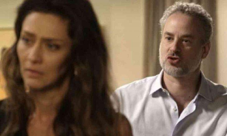 """Eugênio confirma para Joyce que é pai do bebê de Irene nesta sexta (12) em """"A Força do Querer"""""""