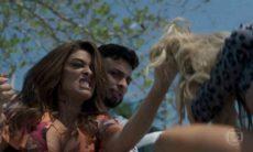 """Bibi agride Carine em público e confronta Rubinho nesta quarta (24) em """"A Força do Querer"""""""