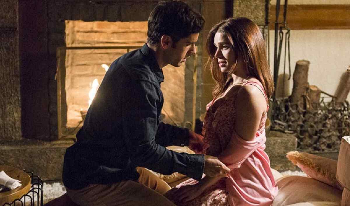 """Shirlei e Felipe têm sua primeira noite juntos nesta terça (9) em """"Haja Coração"""""""