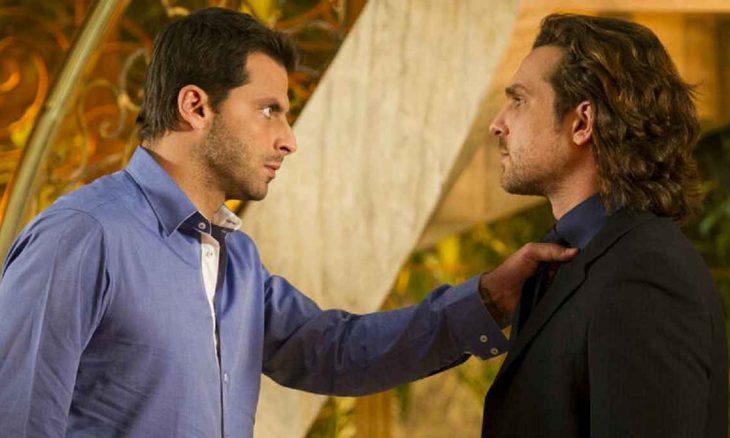Cassiano avisa a Alberto que ele só verá Laurinha acompanhado nesta quarta (10) em 'Flor do Caribe'
