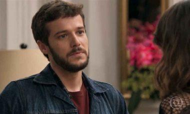 """Bruna convida Giovanni para morar come ela na Argentina nesta terça (16) em """"Haja Coração"""""""