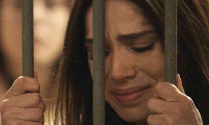 """Shirlei é presa após armação de Jéssica nesta (20) em """"Haja Coração"""""""