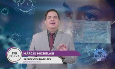 Pró-Beleza: Márcio Michelasi apresenta pleito emergencial ao Governo do Estado de São Paulo. Foto: Divulgação