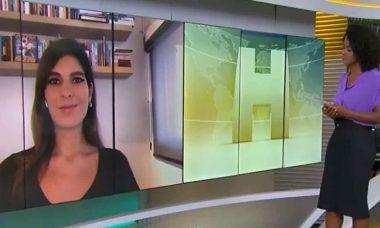 A apresentadora da Globo se afasta de programas para ter gêmeos. Foto: reprodução Instagram