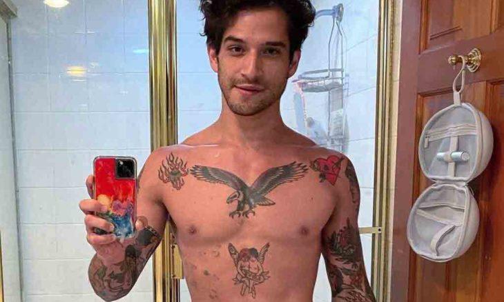 Ator de 'Teen Wolf', mostra pênis em rede social. Foto: reprodução Instagram