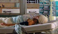 Tragédia! Ana sofre trauma no acidente e faz cirurgia nesta quarta (17) em 'A Vida da Gente'