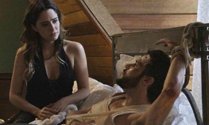 Bruna diz à Giovanni que foi quem fez crime pelo qual ele foi preso nesta quarta (17) em 'Haja Coração'