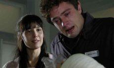 Manuela conta para Rodrigo que ele é o pai de Júlia nesta segunda (22) em 'A Vida da Gente'