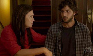 Danilo descobre que Thelma mentiu sobre sua mãe biológica nesta quinta (18) em 'Amor de Mãe'