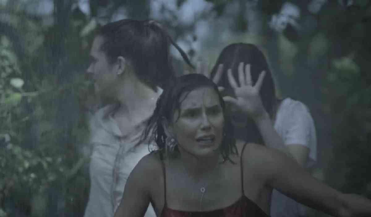 Alexia, Luna e Kyra veem Dominique atirar em Vitório nesta quarta (24) em 'Salve-se Quem Puder'