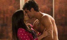 """Shirlei e Felipe se encontram no apartamento de Henrique nesta quarta (3) em """"Haja Coração"""""""