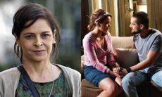Cora vê Cristina conversando com Vicente nesta terça (20) em 'Império'