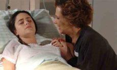 Eva vê Ana chorando e chama Lúcio neste sábado (24) em 'A Vida da Gente'