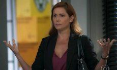 Alexia diz à Rafa que ele pode falar com Kyra nesta segunda (19) em 'Salve-se Quem Puder'