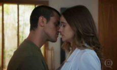 Téo se declara para Luna e a beija nesta segunda (26) em 'Salve-se Quem Puder'