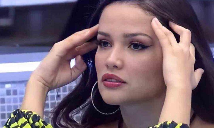 Juliette questiona Faustão sobre fim do programa e ouve: 'Está acabando mesmo'. Foto: Reprodução Instagram