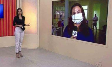 Repórter da Globo pede demissão ao vivo e âncora fica chocada. Foto: Reprodução