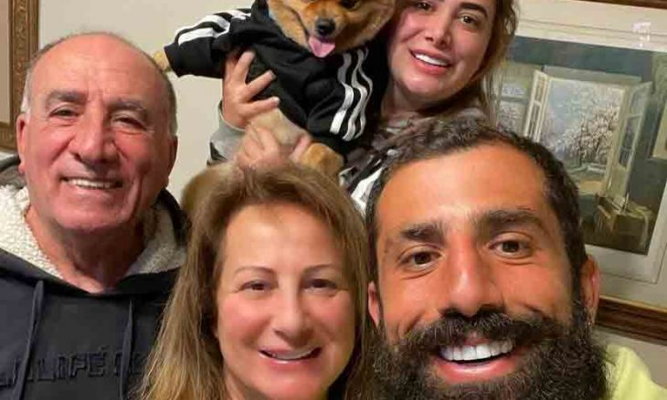 """Kaysar Dadour reencontra a família após 'No Limite': """"Saudade demais"""" (Foto: Reprodução/Instagram)"""
