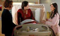 Eva fala para Ana que Manuela e Rodrigo são casados nesta quarta (5) em 'A Vida da Gente'
