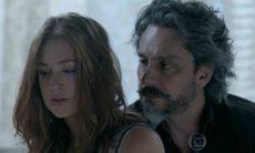 Maria Ísis revela a José Alfredo que está grávida nesta segunda (10) em 'Império'