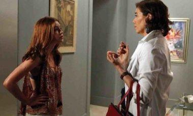 Maria Marta e Maria Ísis se enfrentam nesta terça (18) em 'Império'