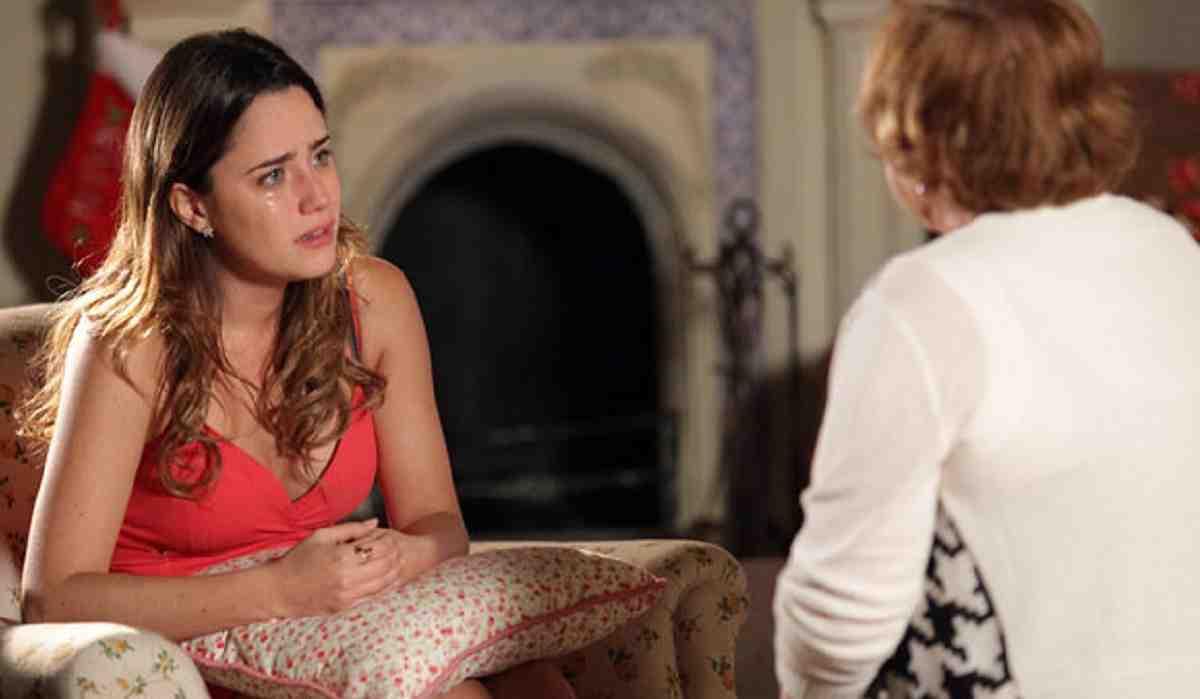 Ana pede ajude de Iná para conversar com Manu nesta quinta (3) em 'A Vida da Gente'