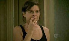 Cora planeja forjar exame de DNA de Cristina e José Alfredo nesta quinta (20) em 'Império'
