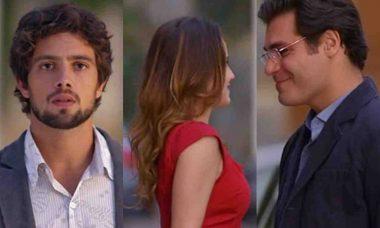 Rodrigo fica arrasado ao ver Ana com Lúcio nesta terça (18) em 'A Vida da Gente'