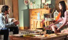 Rodrigo diz à Manu que ele e Ana estão juntos nesta quinta (17) em 'A Vida da Gente'