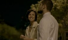 Maria Clara e Vicente jantam juntos nesta segunda (28) em 'Império'