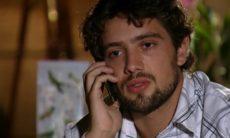 Rodrigo avisa Nanda que Lui sofreu um infarto neste sábado (19) em 'A Vida da Gente'