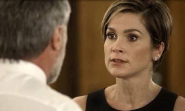 Helena pede o divórcio a Hugo nesta quinta (1) em 'Salve-se Quem Puder'