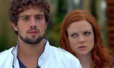 Rodrigo vê Ana e Lúcio se beijando nesta sexta (11) em 'A Vida da Gente'