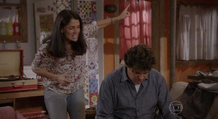 Após saber de traição, Delma expulsa Marcelo de casa nesta sexta (25) em 'Malhação: Sonhos'