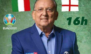 Galvão perde a paciência em áudio vazado na final da Euro: 'Não se encerra assim, estou indo embora'. Foto: Reprodução Instagram