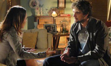 Ana diz a Rodrigo que não ficará com ele neste sábado (24) em 'A Vida da Gente'