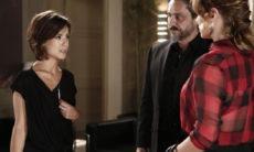Cristina enfrenta Maria Clara no primeiro dia de trabalho nesta segunda (12) em 'Império'