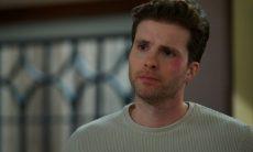 Alan resolve terminar seu namoro com Kyra nesta segunda (5) em 'Salve-se Quem Puder'