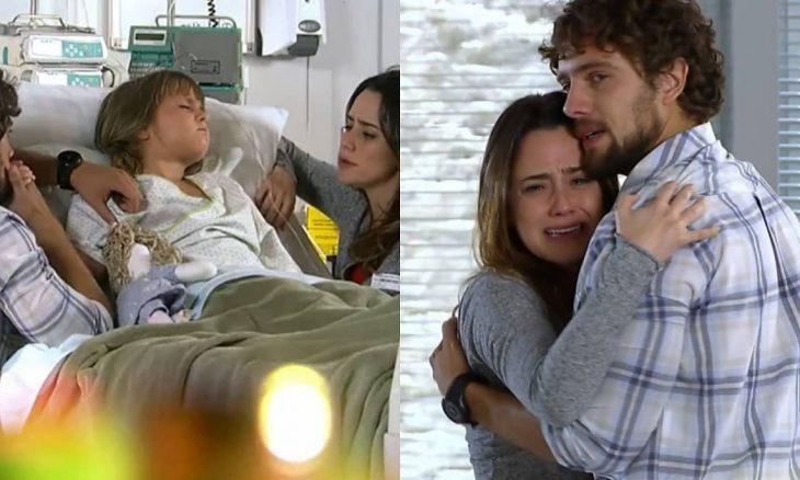 Médico informa que Julia precisará de um transplante nesta segunda (2) em 'A Vida da Gente'