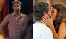 René vê Dandara e Gael se beijando nesta quinta (22) em 'Malhação: Sonhos'