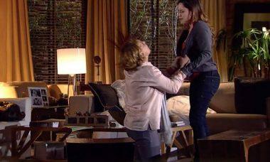 Eva se descontrola ao saber que Ana não vai mais casar nesta sexta (23) em 'A Vida da Gente'