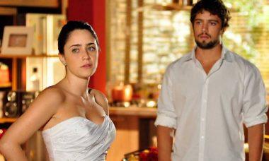 Rodrigo implora que Ana desista de se casar nesta quarta (21) em 'A Vida da Gente'