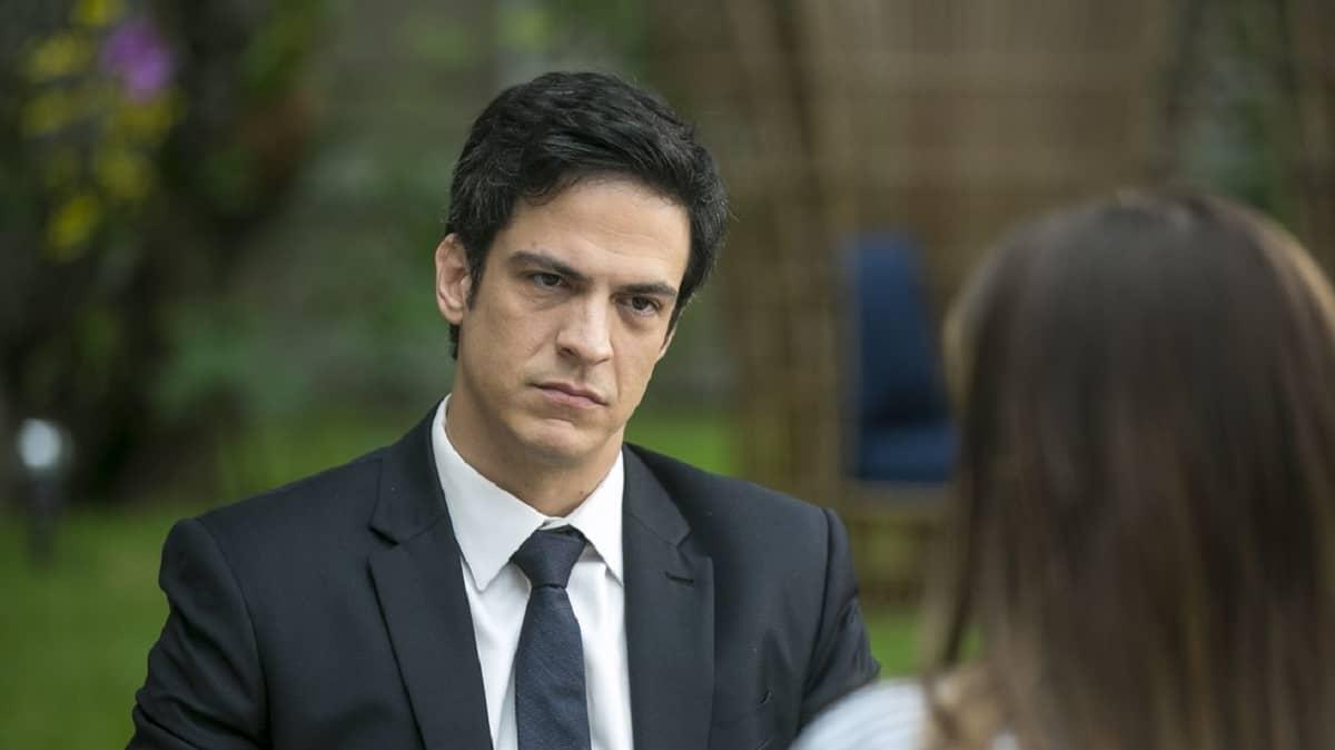 Eric revela a Luiza que Cássio é culpado pelo crime do Pará nesta segunda (2) em 'Pega Pega'