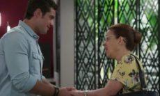 Renzo se emociona ao saber que Lucia é sua avó nesta quarta (14) em 'Salve-se Quem Puder'