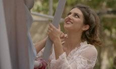 Jade sabota o vestido de Bianca ensaiar nesta quarta (11) em 'Malhação: Sonhos'
