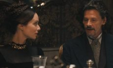 Eugênio e Luísa discutem nesta sexta (20) em 'Nos Tempos do Imperador'
