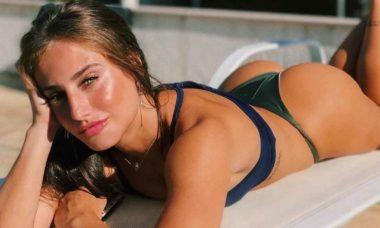 Bruna Griphao relembra banho de cachoeira em clique de biquíni. Foto: Reprodução Instagram